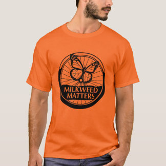 Men's Orange Shirt B/W Logo