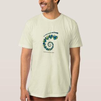 Men's organic natural cotton t-shirt