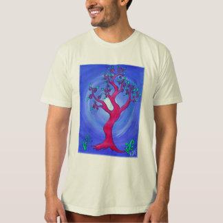 Men's Organic Tee-Simply Red the Tree T-Shirt