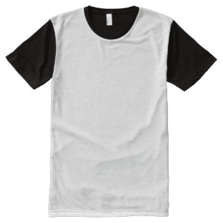 Men's Panel T-Shirt All-Over Print T-shirt