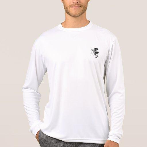 Mens performance micro-fiber long sleeve t-shirt