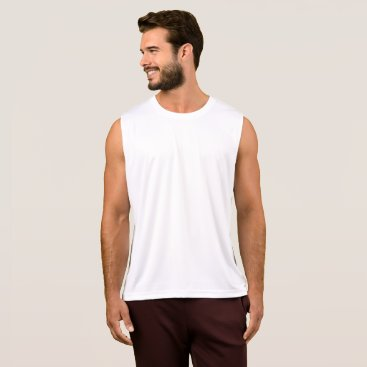 Beach Themed Men's Performance Tank Top