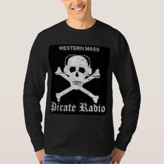 Mens Pirate Radio Long Sleeve T-shirt