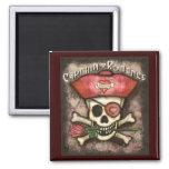 Men's Pirate Valentine Magnet