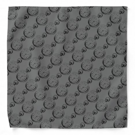Men's Pocket Watch Handkerchief Bandana