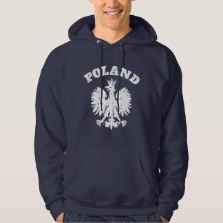 Men's Polish Pride Eagle Symbol Hoodie