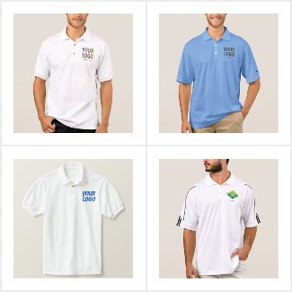 Men's Polo Golf Tennis Shirts Custom Business Logo