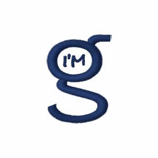 Mens Polo Shirt w Royal (Blue) Logo