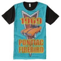 Men's Pontiac Firebird All-Over-Print Shirt