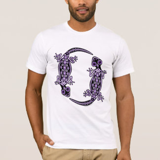 Men's Purple Geckos Totem Tee