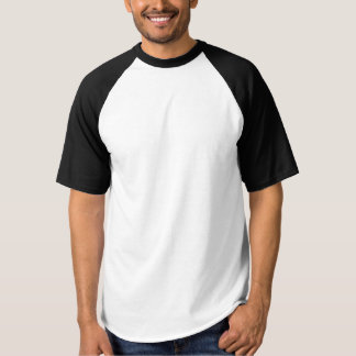 Men's Raglan Baseball T-Shirt  DIY add text image