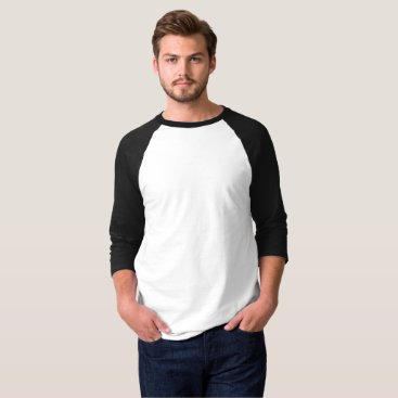 Beach Themed Men's Raglan Shirt