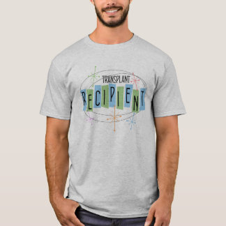 Men's retro design transplant recipient t-shirt