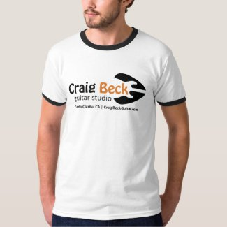 Men's Ringer Tee | Craig Beck Guitar Studio