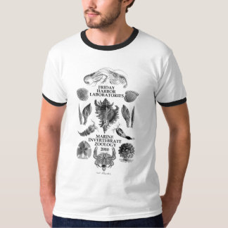 Men's Ringer Zoology T Shirt