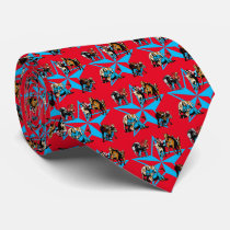 Mens Rodeo Steer Wrestling Cowboy Western Neck Tie