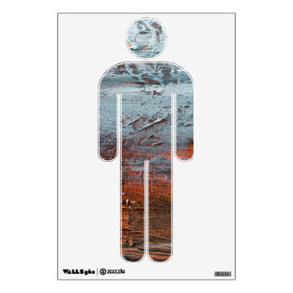 Men's Room Icon Wall Decal