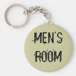 MEN'S ROOM KEY CHAIN