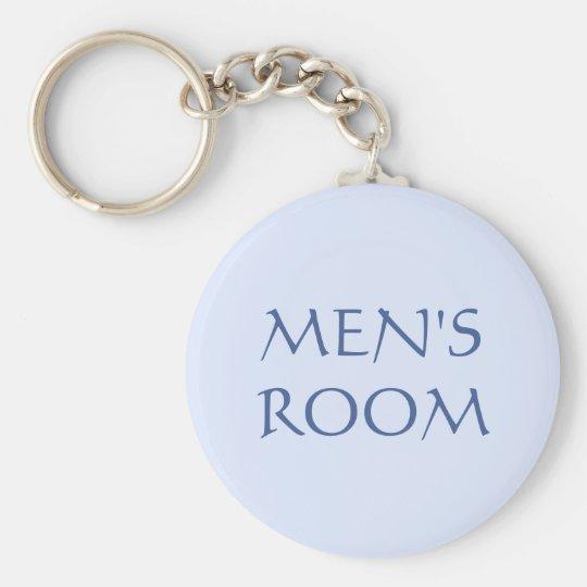 Men's room/toilet keychain