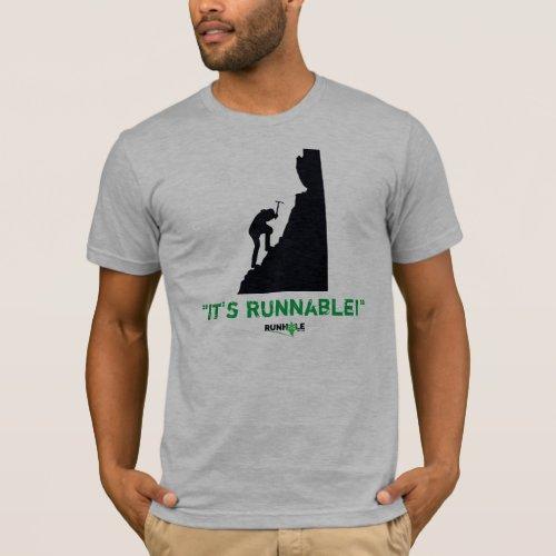 Mens Runnable Shirt
