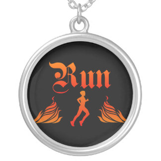 Mens Running Necklace
