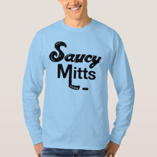 Men's Saucy Mitts Hockey T-Shirt