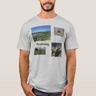 Men's Scenes of Wyoming T-Shirt