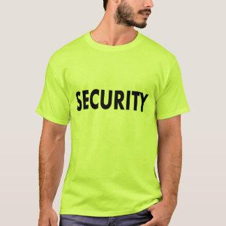 Men's Security Shirt. T-Shirt