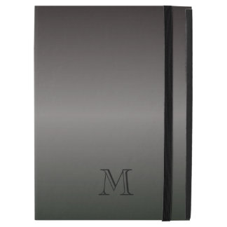Mens Shades of Black Monogram iPad Air 2 Case