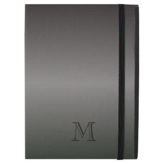 Mens Shades of Black Monogram iPad Air 2 Case iPad Pro Case