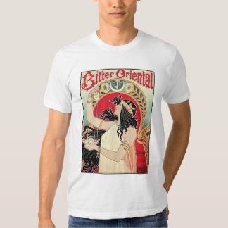 Men's Shirt: Art Nouveau - Bitter Oriental T Shirt