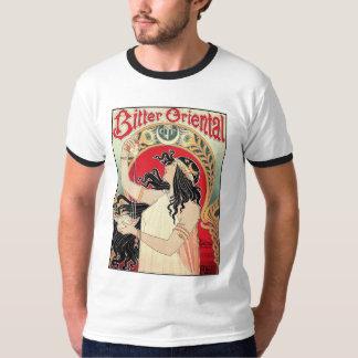 Men's Shirt: Art Nouveau - Bitter Oriental Tee Shirt