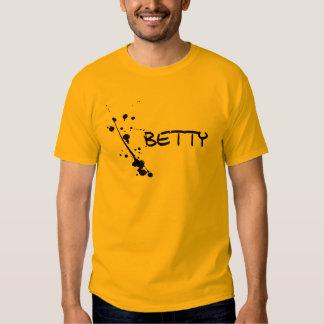 Mens shirt Betty with paint splatter