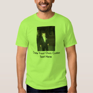 Men's Short Sleeve Custom Shirt with Picture/Text