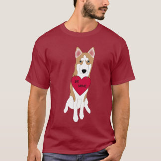 Men's Siberian Husky Be Mine T-shirt