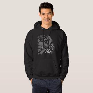 Men's Skeleton Skull Spider Hooded Sweatshirt