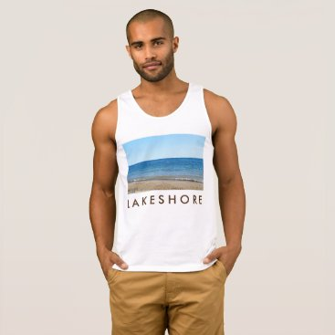 Beach Themed Men's sleeveless summer top