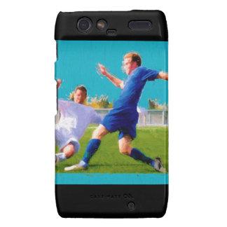 Men's Soccer Game Motorola Droid RAZR Case