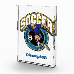 Men's Soccer Logo Award