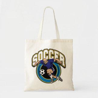 Men's Soccer Logo Canvas Bag