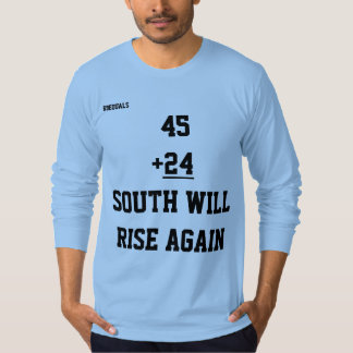 Men's South Long Sleeve T Shirt