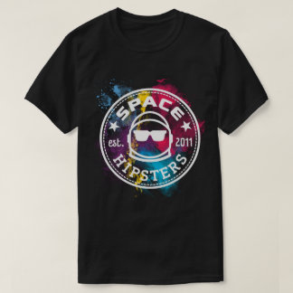 Men's Space Hipsters Nebula T-shirt
