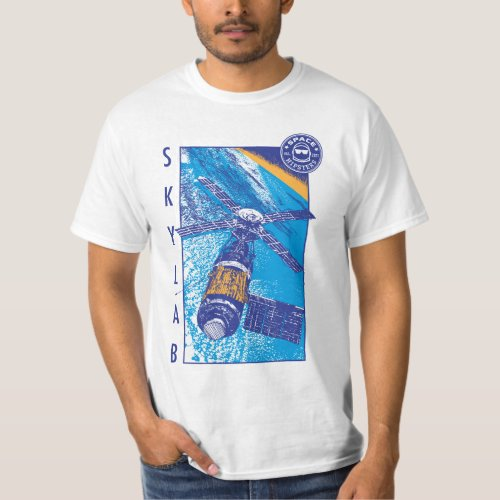 Mens Space Hipsters Skylab T_shirt