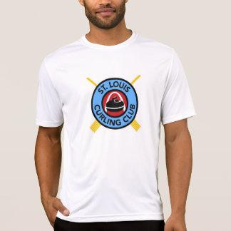 Men's St Louis Curling Club - Micro fiber T Shirts