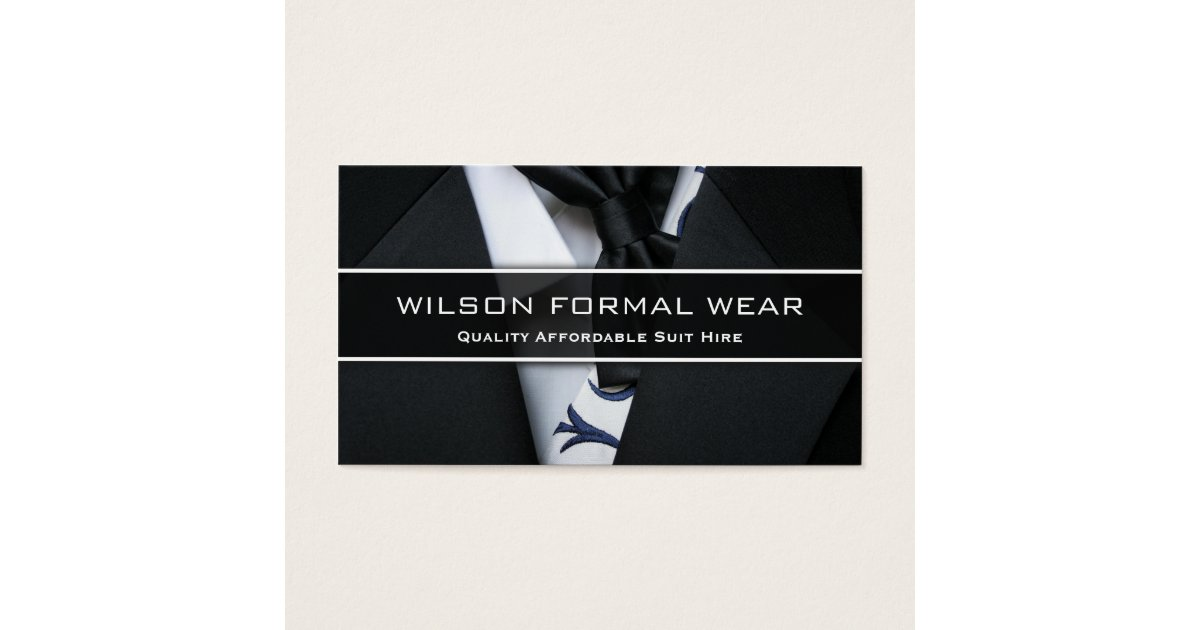 Formal Business Cards & Templates | Zazzle
