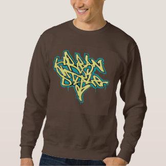 Men's Sweater Urban Style Graffiti