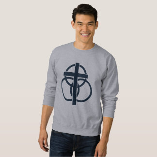 Men's Sweatshirt: Modern Logo Sweatshirt