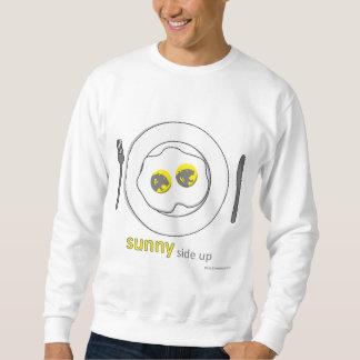 mens sweatshirt - sunny side up