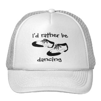 Mens Swing Dance Shoes Id Rather Be Dancing Spats Hat