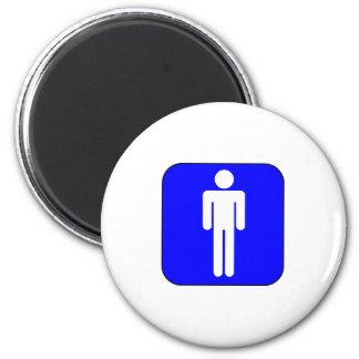 Mens Symbol Refrigerator Magnet